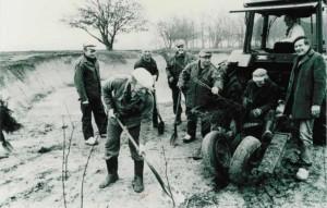 1988 inplanten vuilstortplaats