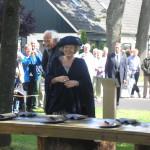 Bezoek koningin