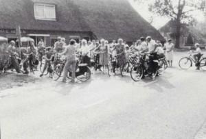 Wezup fietstocht 1980 foto 1