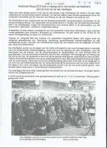 151215 artikel oek kerstmarkt Wezup kent z'n weerga niet in het noorden van Nederland door de inzet van vele vrijwilligers